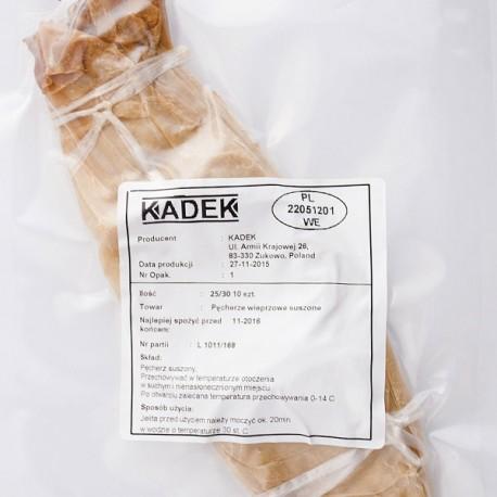 Pęcherze wieprzowe suszone kaliber 25/30