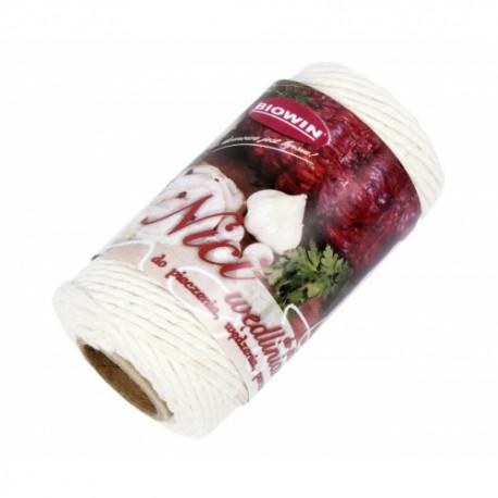 Sznurek wędliniarski bawełniany do 300C, 100g